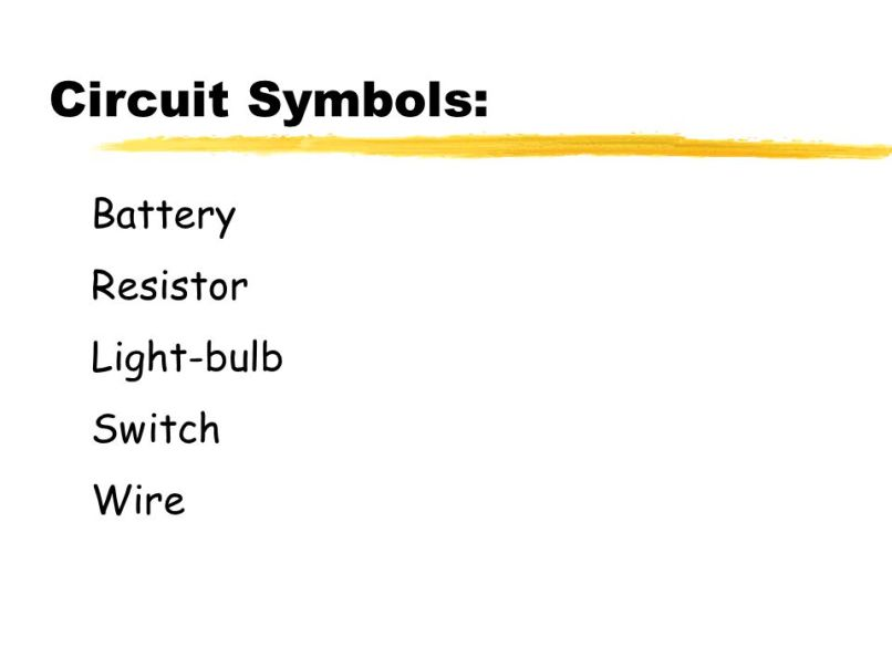 Unique Circuit Symbol Resistor Gallery - Schematic Diagram Series ...