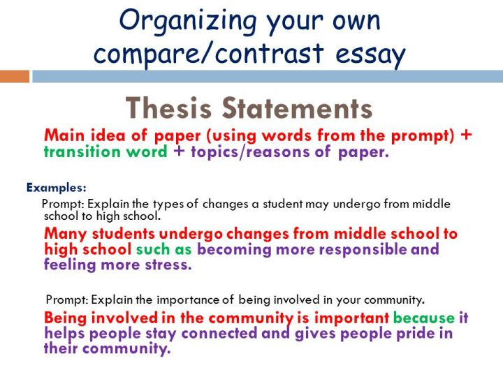 compare contrast essay prompts middle school docoments ojazlink thesis of a compare and contrast essay bestparagraph essay topics paragraph writing prompts middle school general