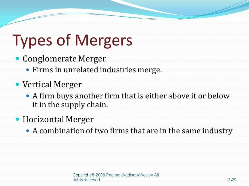 what are horizontal mergers