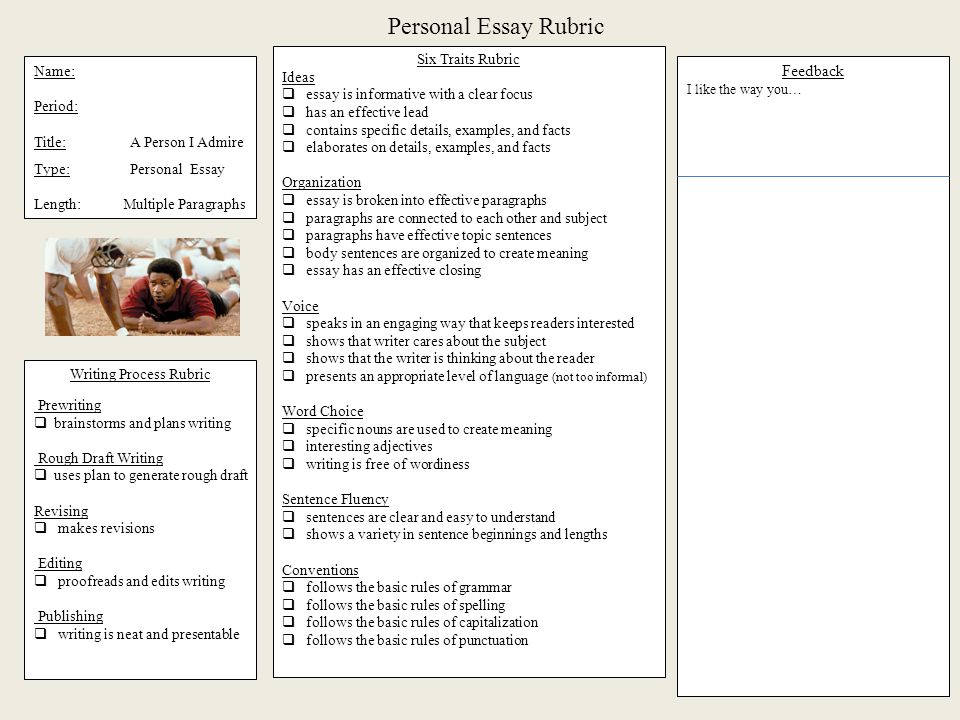 examples of rubrics for essay writing | Docoments Ojazlink
