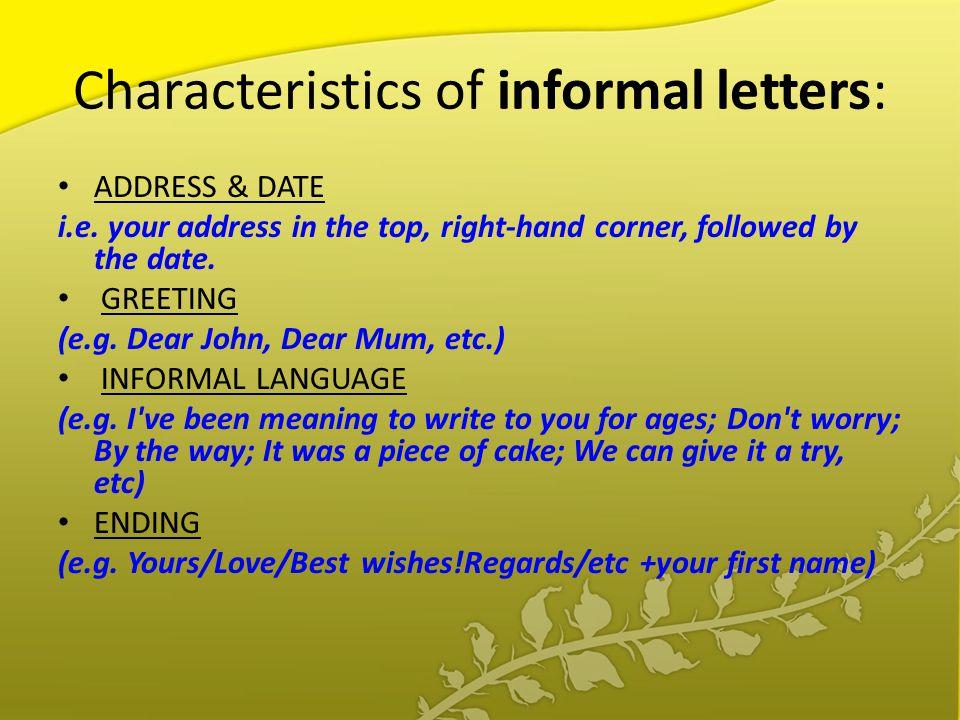 Formal Invitation Language
