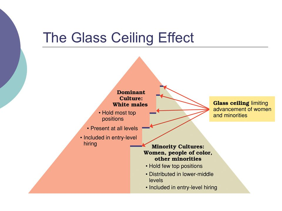 63 The Glass Ceiling Effect