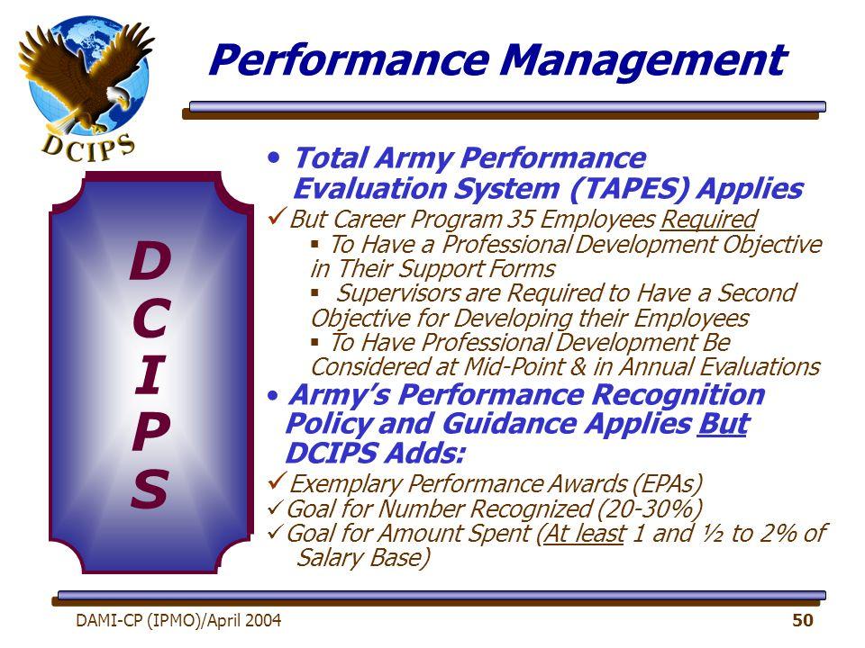 Army Civilian Career Program 51