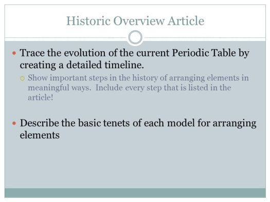 History of the periodic table timeline powerpoint periodic the periodic table chapter ppt online urtaz Image collections