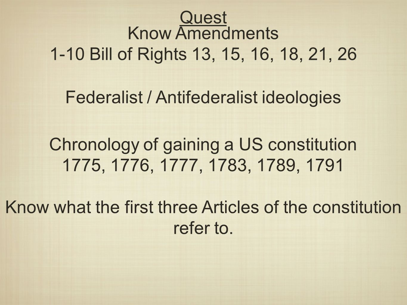 Response Question 1 22 14 Of The Rights Described In The Bill Of Rights And Further Amendments