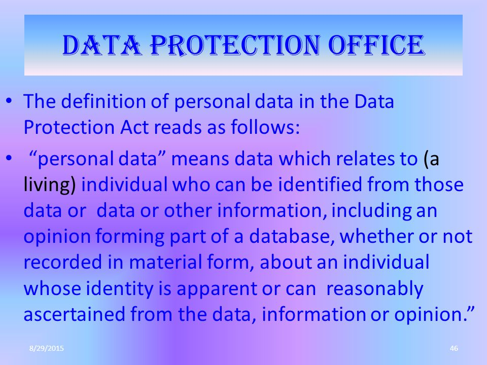 Personal Security Definition
