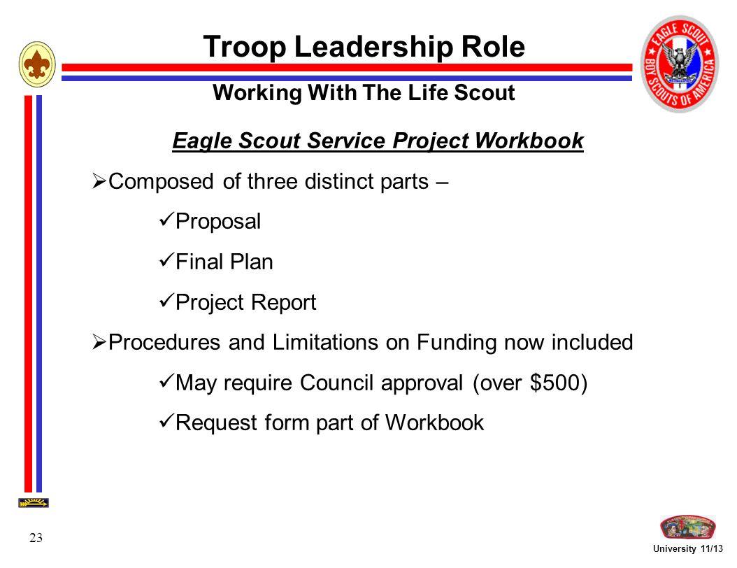 Troop Leadership Focus