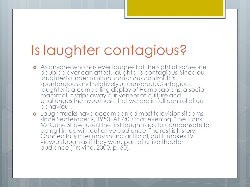Canned Laughter Theatre Definition