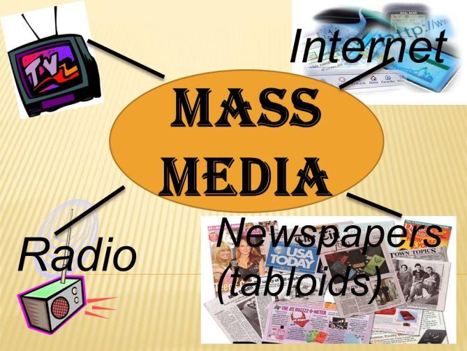 Internet Mass media Newspapers (tabloids) Radio. - ppt video online download