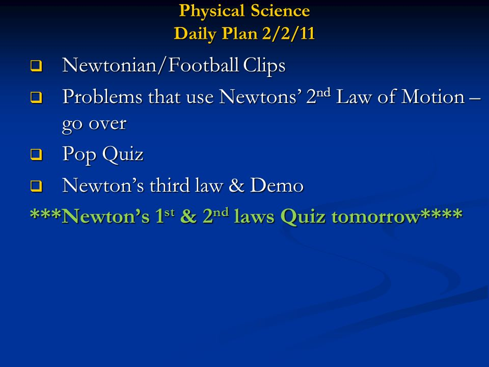 Crossword 3 Newtons Laws