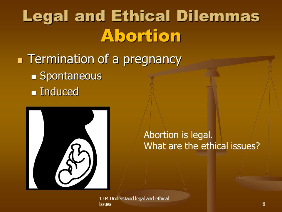 ethical dilemma of abortion