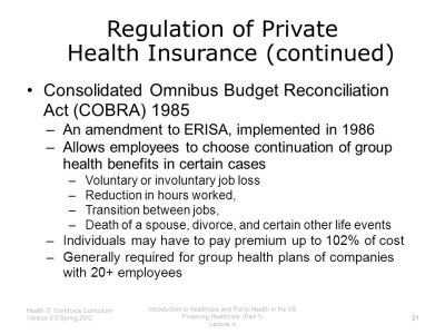 Introduction to Healthcare and Public Health in the US ...