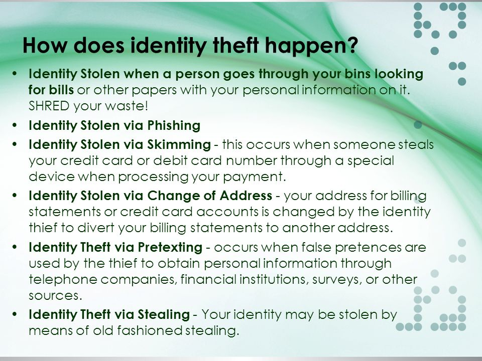 Security Financial Online Payment