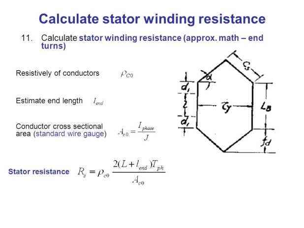 3 phase induction motor winding resistance calculation for Three phase motor winding formula