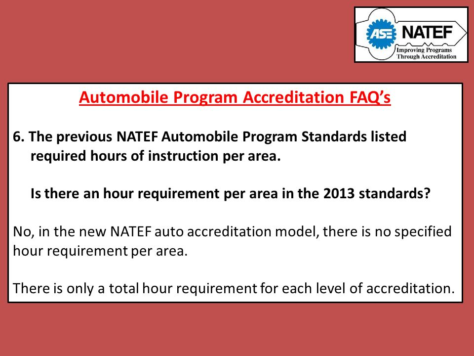 Ase Certification Requirements