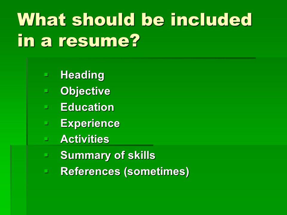 Good High School Student Resume