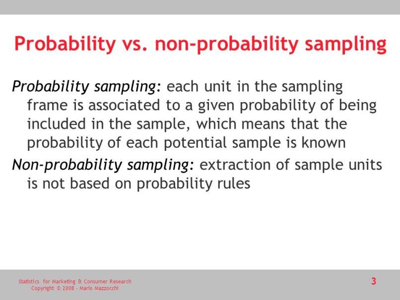 Define Non Probability Sampling In Research - Nouveau Concepts