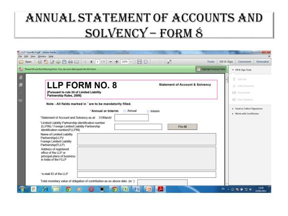 Image result for form LLP 8
