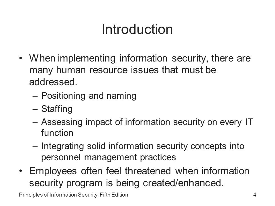 Introduction Private Security 5th Edition