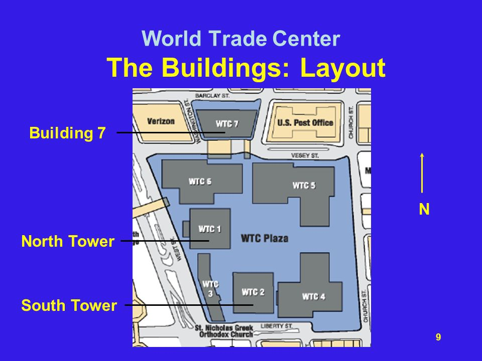 North Trade Tower Towers Center World Twin