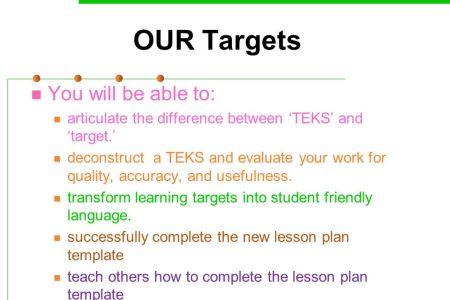 Free Templates 2018 » teks lesson plan template | Free Templates