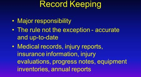Maintaining Up To Date Emergency Medical Records