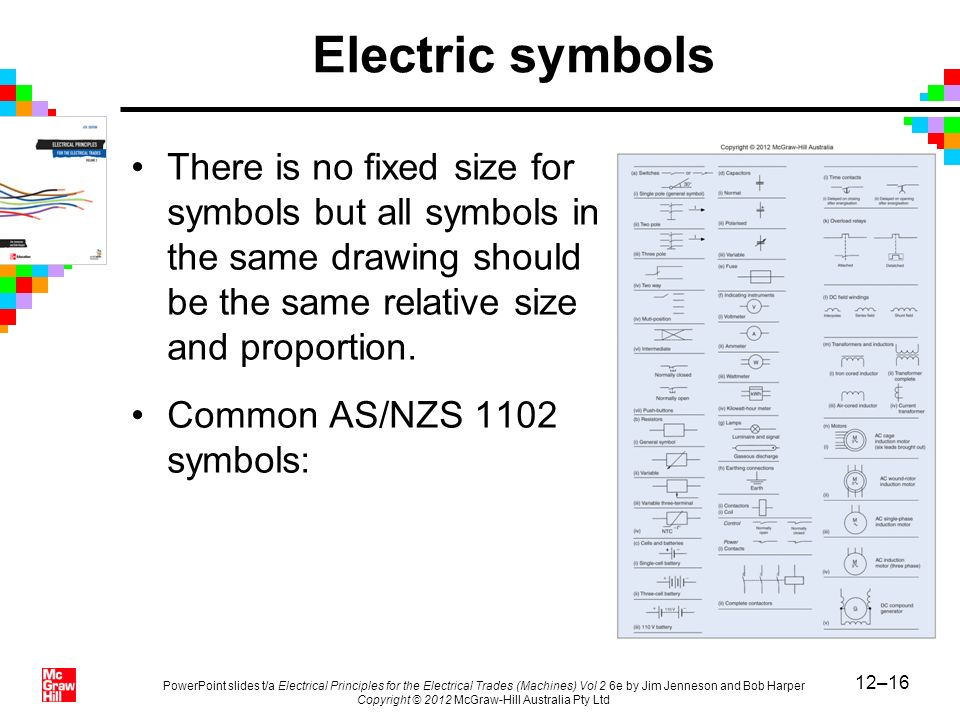 Standard Drafting Symbols For Electrical