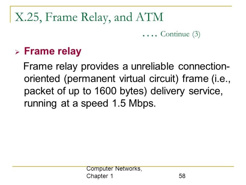 Difference Between X 25 And Frame Relay Ppt | Allframes5.org