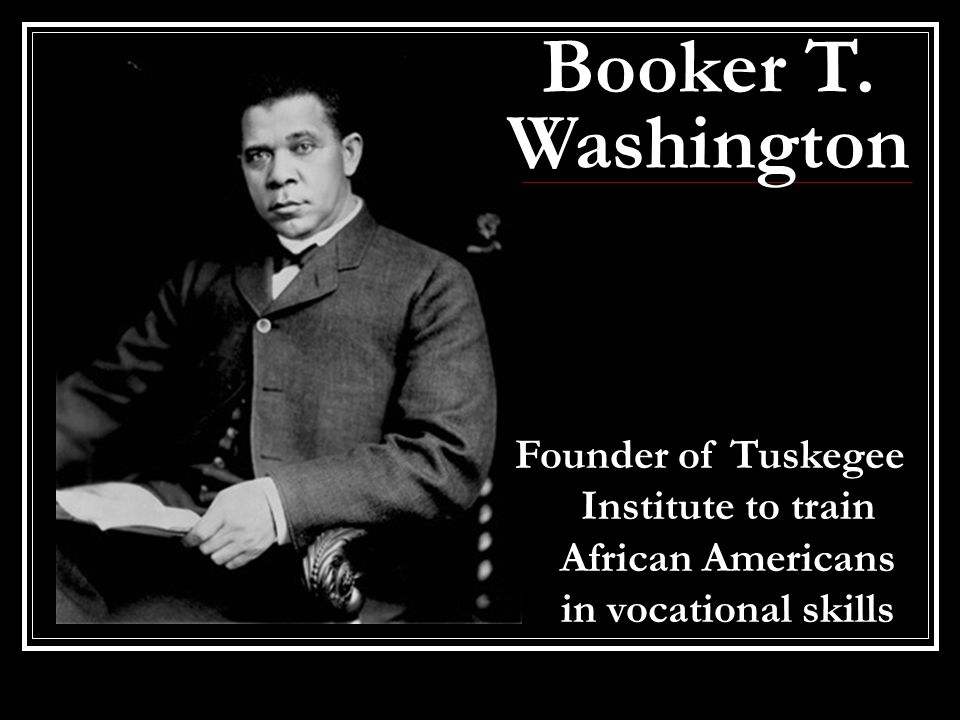 Web Dubois And Booker T