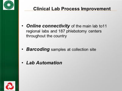 Improving Efficiency in Clinical Laboratory - ppt video ...