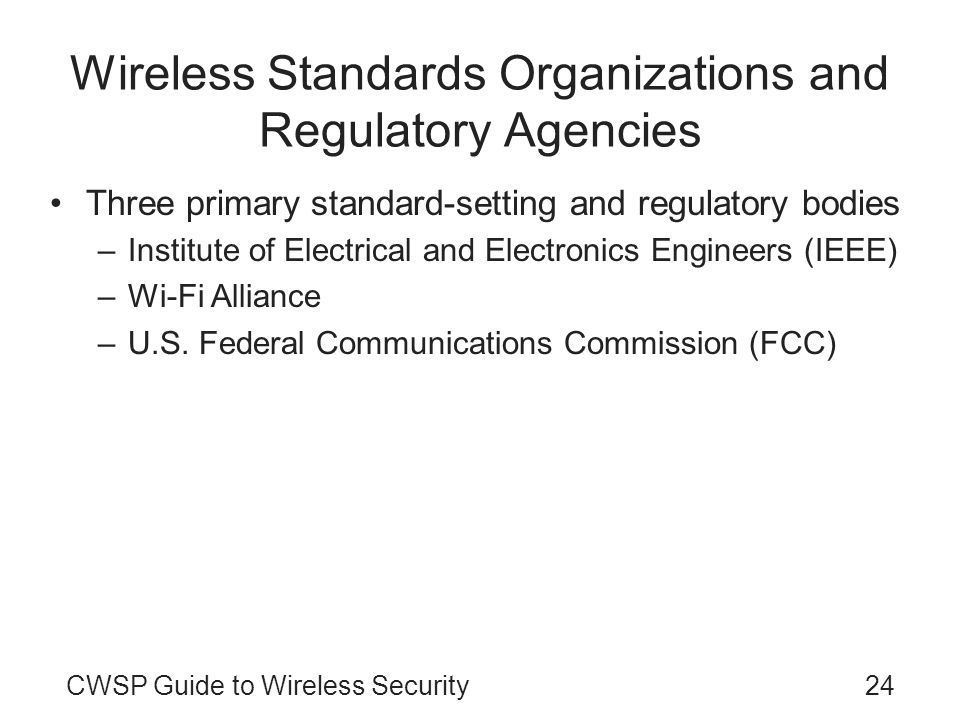 Wireless Security Engineer