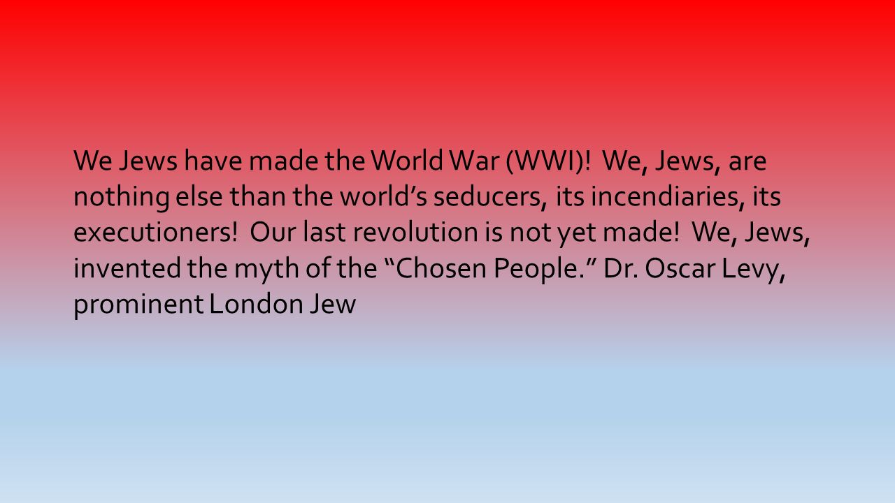 Image result for nothing but the world's seducers jews