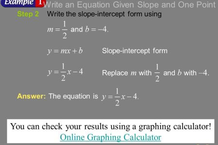 How To Create A Graph Graphing Slope Intercept Form Calculator