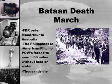 Image result for pics of bataan death march and fall of the philippines