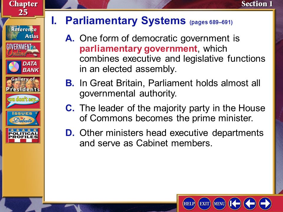 Elegant In A Parliamentary System From Where Are Cabinet Members Drawn