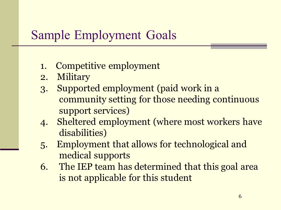 Plan Individual Development Work