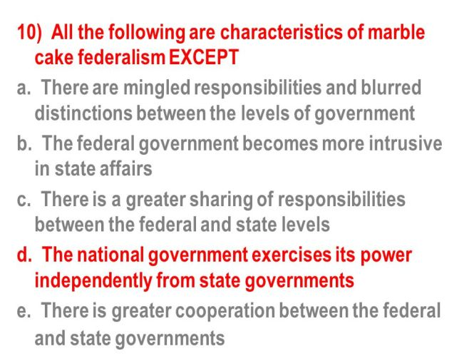 the evolution of federalism ppt
