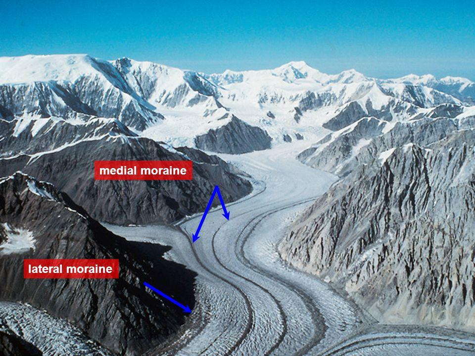 Glacier Terminal Moraine Diagram