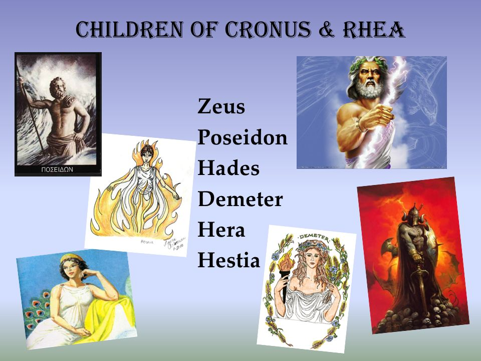 Hera Demeter Poseidon Zeus Hades Hestia Pictures And