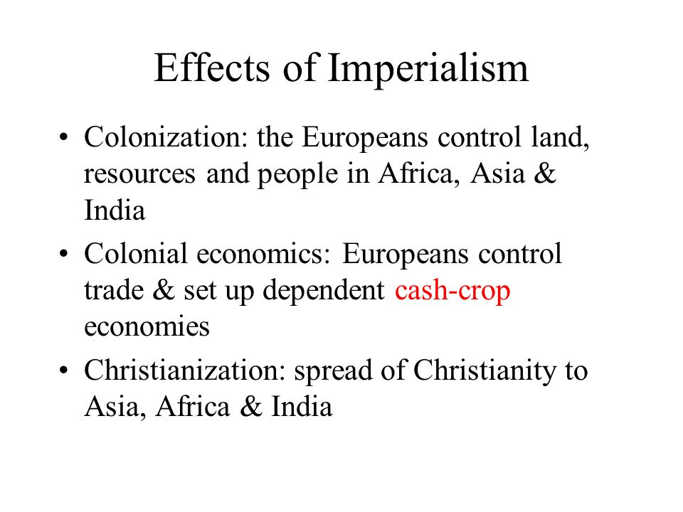 effects of imperialism in india