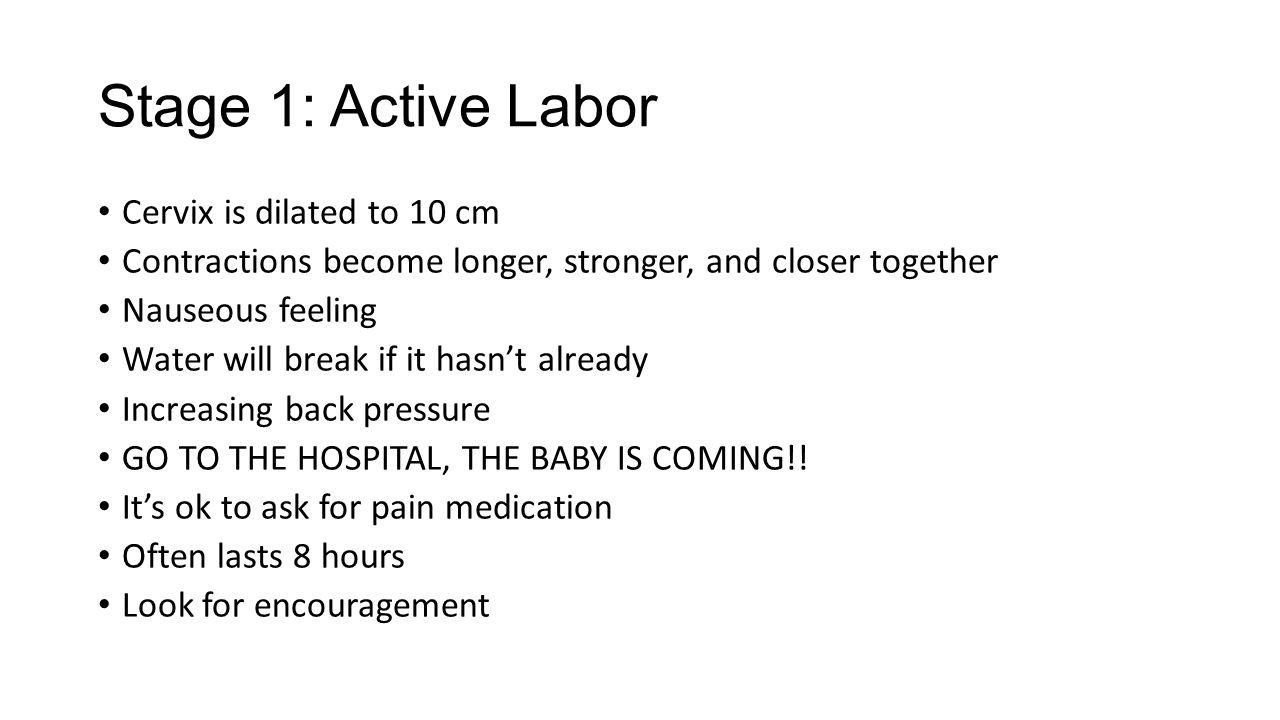active labor