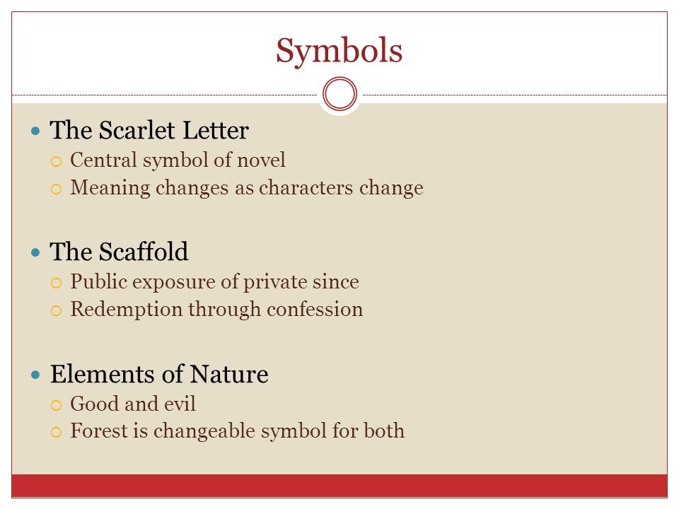 Symbolism In The Scarlet Letter Inviletter