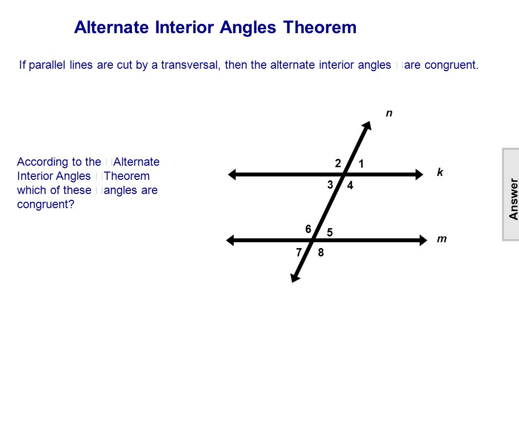 Table Of Contents Lines Intersecting Parallel Amp Skew