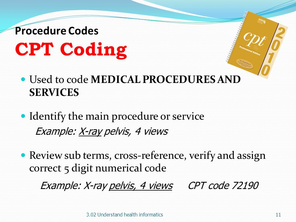 Coding Example Medical