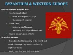 The BYZANTINE EMPIRE  ppt download