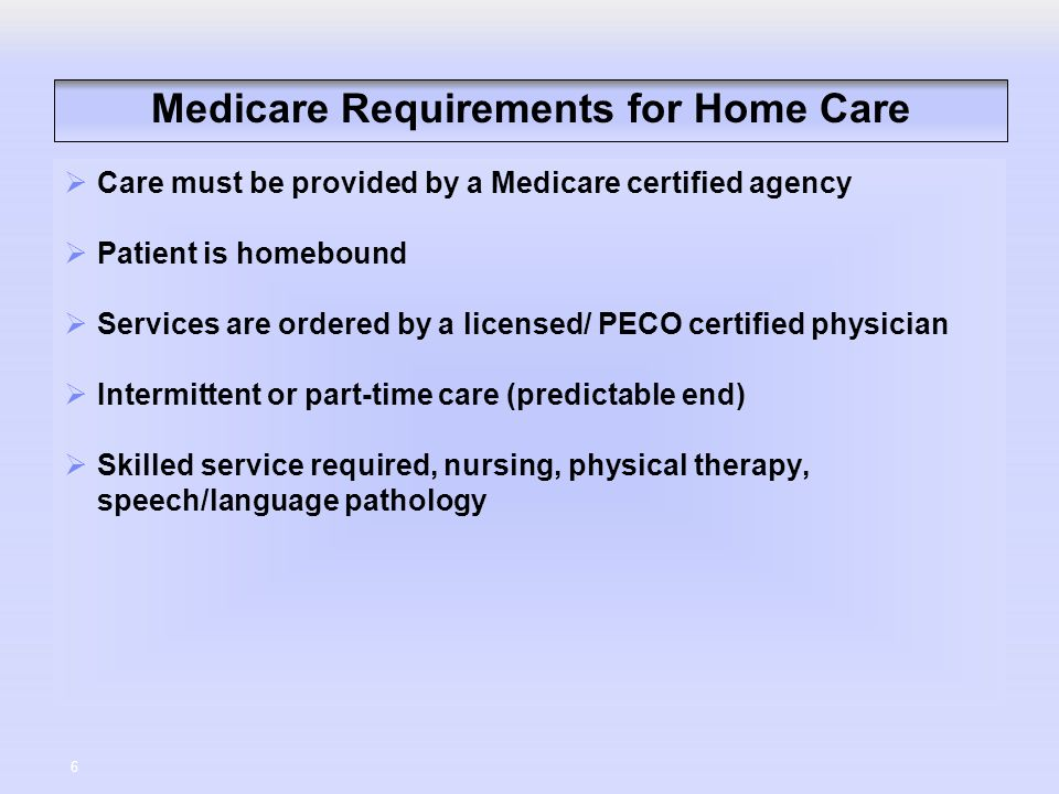 Admission Requirements Nursing Home