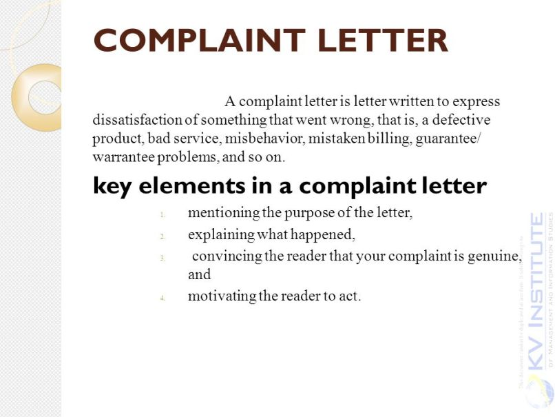 Complaint letter against an employee on his misbehaviour sample letter writing complaint how to write an effective of spiritdancerdesigns Images