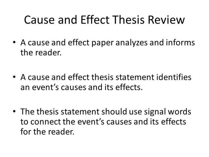 cause and effect essay thesis generator  mistyhamel cause and effect essay thesis generator poemsview co