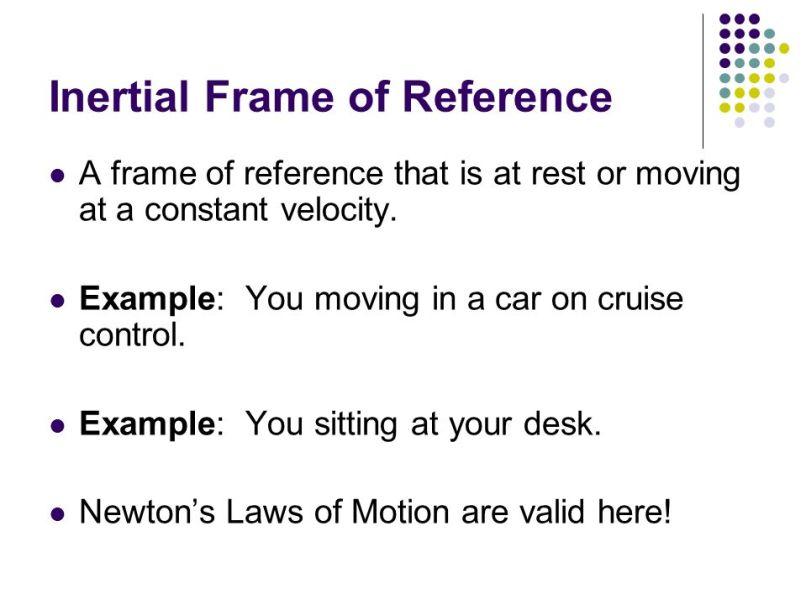 Inertial Reference Frame Explained | Frameswalls.org