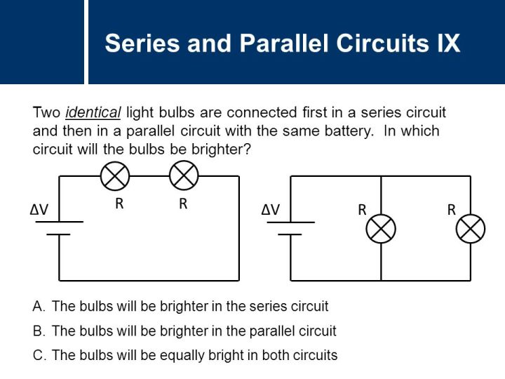 Schematic Two Parallel Resistors In Parallel With A Battery